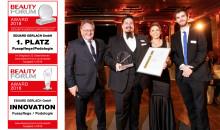 BEAUTY FORUM Award 2018: Große Freude bei Gerlach über zufriedenste Kunden in Podologie und Fußpflege