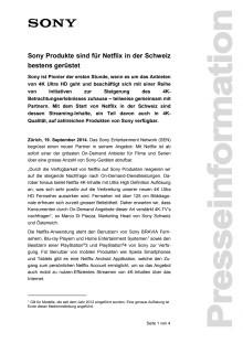 Medienmitteilung_Netflix in der Schweiz_D-CH_140919