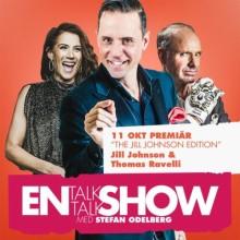 """Göteborgspremiär för populära """"En Talk Talk Show"""" med Stefan Odelberg och gästerna Jill Johnson och Thomas Ravelli!"""