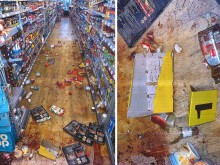 Two men sentenced following violent fight in supermarket