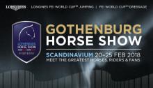 Biljettsläpp Gothenburg Horse Show 2018!