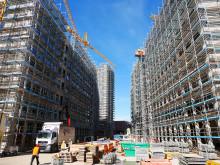 Rohbau fertiggestellt: Errichtung der neuen Zurich Zentrale in Köln voll im Zeitplan
