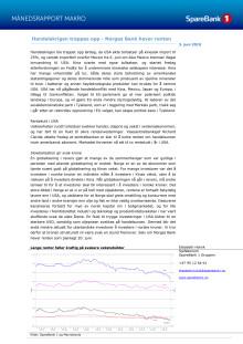 Makrorapport juni 2019: Handelskrigen trappes opp - Norges Bank hever renten