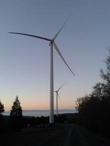 RES inaugure le parc éolien de Bois de la Serre (Aude) - 22 MW