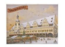 """Historisches Leipzig-Motiv ziert den """"Schnapskalender"""" 2014"""