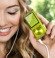 Reproductor de vídeo y MP3 Sony WALKMAN® E450 repleto de funciones y con el mejor sonido para los jóvenes fans de la música