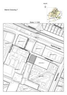 Karta fastigheten Oxievång 7