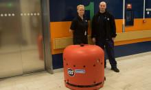 ISS först i Sverige med smart städrobot i sjukhusmiljö
