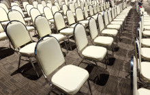 How can you ensure registered delegates actually show up to your event?