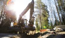 Svevia förbereder bostadsområde Erstorp i Lidköping