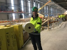 Reportage: Nya tågdepån i Eskilstuna har fått lätta och högeffektiva rörskålar från ISOVER