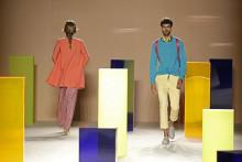 Sony y Antonio Miro desfilan juntos en la o8o Barcelona Fashion