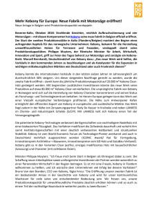 Mehr Kebony für Europa: Neue Fabrik mit Motorsäge eröffnet!