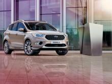 Ford rozšiřuje nabídku SUV o nový sportovně stylizovaný model Kuga  ST-Line a luxusní model Kuga Vignale