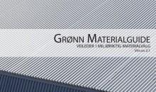 Lansering av revidert versjon av Grønn Materialguide: v2.1