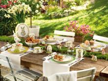 Collection printemps 2019 : tout pour un joyeux brunch de Pâques en famille et entre amis