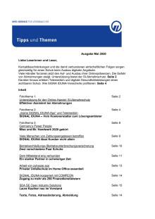 Tipps und Themen 5-2020