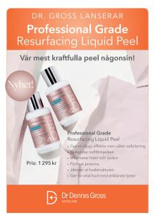 Dr. Dennis Gross Professional Grade Resurfacing Liquid Peel 2019 A4 Skylt