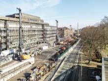 Milestone for Kriegsstraße street tunnel in Karlsruhe: ZÜBLIN completes ground engineering works
