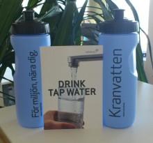 Internationella studenter får veta att vi har ett utmärkt kranvatten i Sverige