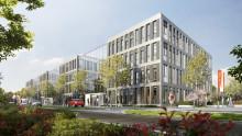 Richtkranz gehisst: Haus der Höfe Bonn wird ab 2. Quartal 2019 bezogen