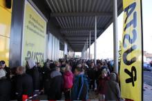 Over 300 i kø da Rusta åpnet dørene