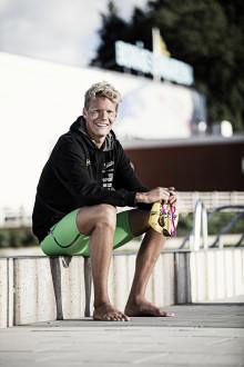 Brilliant start for Bluewater partnership with elite Swedish swimmer