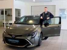 Nye Toyota Corolla Hybrid er klar for Mosjøen