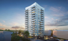 Klart för byggstart av Riksbyggens 15-våningshus i Bandhagen