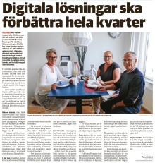 Smart blocks uppmärksammas i media