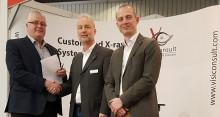 Ohm & Häner Metallwerk investiert in ein Röntgensystem während Euroguss-Besuch
