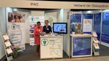 VOD informiert auf Messe therapie on tour Bochum über Osteopathie