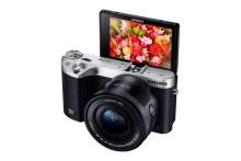 Ta högupplösta bilder och video i 4K med Samsung NX500