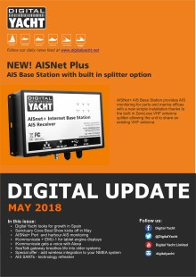 Digital Update May 2018 - New products and solutions in marine electronics