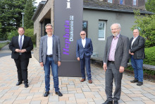 Europa-Abgeordneter Engin Eroglu besucht Hephata Diakonie