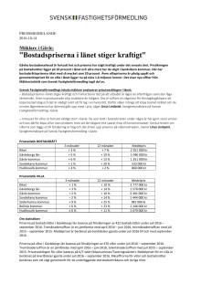 """Mäklare i Gävle: """"Bostadspriserna i länet stiger kraftigt"""""""