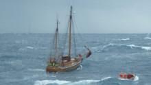 'Esvagt Sigma' and 'Esvagt Alpha' save 4 lifes at sea