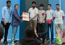 A Team led by Sajid Nisar Wins Hyundai's 'Best Student Innovation Challenge Award' at the 2019 IEEE World Haptics Conference