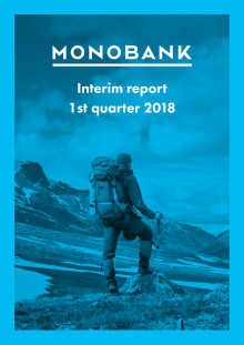 Monobank ASA Q1 2018 Report