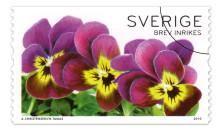 Blomsterfrämjandet och Posten i blommigt samarbete