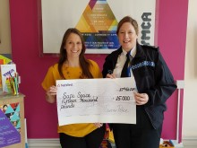 Police donation to help keep vulnerable people safe in the city