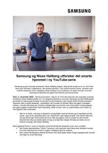 Samsung og Nisse Hallberg utforsker det smarte hjemmet i ny YouTube-serie