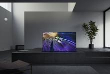 Sony BRAVIA XR MASTER-serie A90J OLED-tv's vanaf begin april beschikbaar in de Benelux