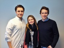Tre smarte, engasjerte og livlige selgere til Mynewsdesk
