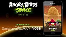 Grattis till de med Galaxy: Samsung bjussar på Angry Birds Space