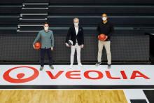 Veolia bleibt Umweltpartner der Hamburg Towers