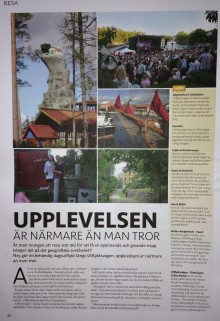 Utflyktsvägen - Gröna Kusten, finns på Seniormässan 20 - 22/10 i Stockholm!