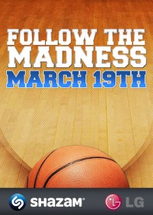 Shazam Gives NCAA® March Madness® Fans a Social Second-Screen Experience