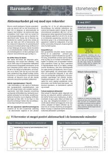 Barometer: Aktiemarkedet på vej mod nye rekorder