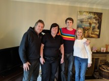 Hampshire family thank officer for support after man suffers life threatening injuries in USA accident